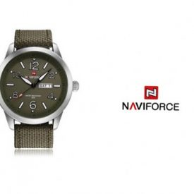 ساعت مچی naviforce قهوه ای